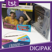 Popular CD Music Album Digipak with FULL Package&Printing