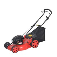 4 stoke of lawn mower with powerful strong machinery