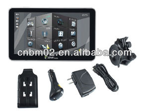 7 inch Truck GPS Navigation, Touch screen with Bluetooth, AV-IN, DVB-T