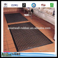 Great Wall Self brand promotion in February Black color Anti-fatigue rubber mat 16mm x 914mm x 914mm PAHS,REACH,CE ISO9001
