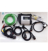 New MB Star C4 SD Connect + Xentry Diagnostics Compact 4 Multiplexer with five cables full set diagnostic tool