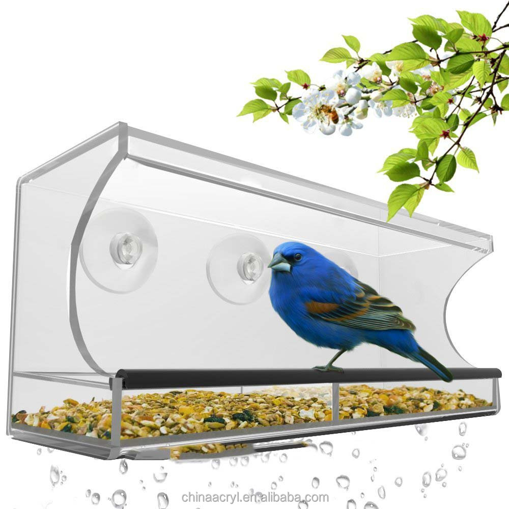 wholesale factory custom acrylic pet cage case for bird hamster