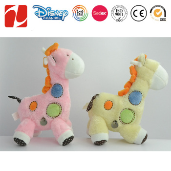 Plush Giraffe Baby Toy Stuffed Singing Shake Head Giraffes