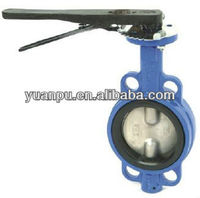 D7A1 Model Wafer type Butterfly Valve without Pin