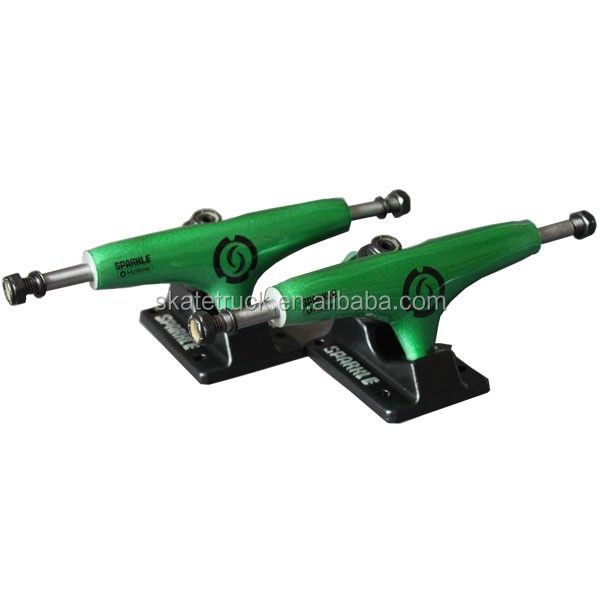 Superlight Hollow Kingpin Green Skateboard Trucks Longboard Trucks