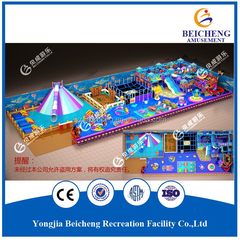 Various Theme Funny Play Children Indoor Playground Wholesale For Amusement Park
