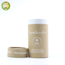 biodegradable toothpaste tubes 100% recycled cosmetic paper tube with logo printing