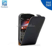 Mix colors ULTRA SLIM Leather Flip Case Mobile Phone Cover Case for BlackBerry 9900