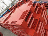 1200*1000 empty beverage bottles tray and cans packing plastic pallets flat top beer plastic pallets in china.