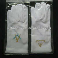 military parade gloves uniform for marching band gloves with dots on palm