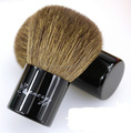 Natural Goat hair kabuki makeup brush PVC blister packed