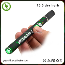 Greentime titanum wire and ceramic wick dry herb pen tobacco smoking devices with magnetic mouthpiece