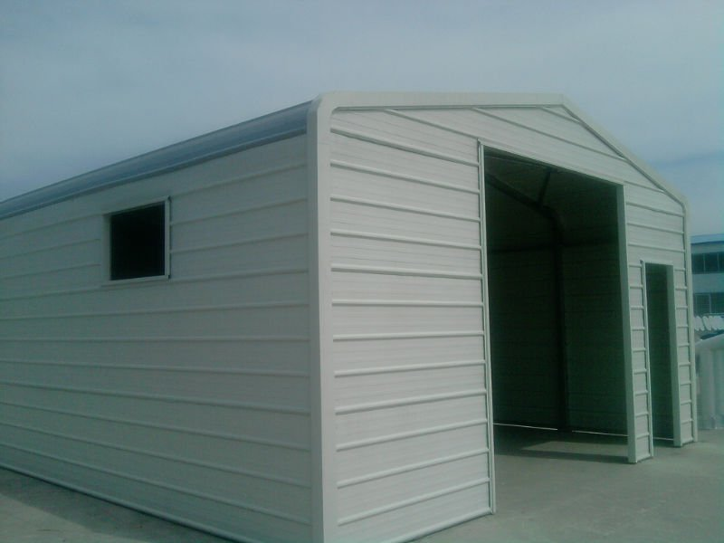 Prefabricated steel car garage with low cost buy steel for Garage low cost