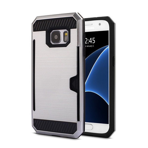 Hybrid Heavy Duty Durable TPU PC Case For Samsung Galaxy S5 S4 S6 S7