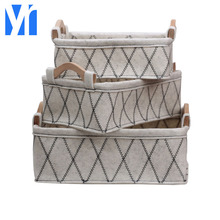 YRMT Manual customizationsmall foldable fabric storage baskets