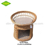 Cheap hand woven custom indoor wicker dog house