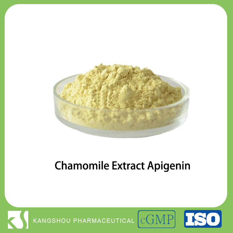 High quality Apigenin (CAS no. 520-36-5) from Chamomile flower extract powder
