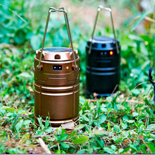 Rechargeable LED Camping Lantern / Solar Camping Light