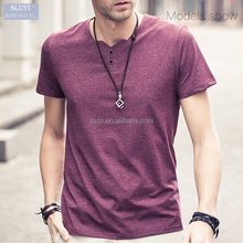 t shirts wholesale china simple All-matched cottom plain t shirt men
