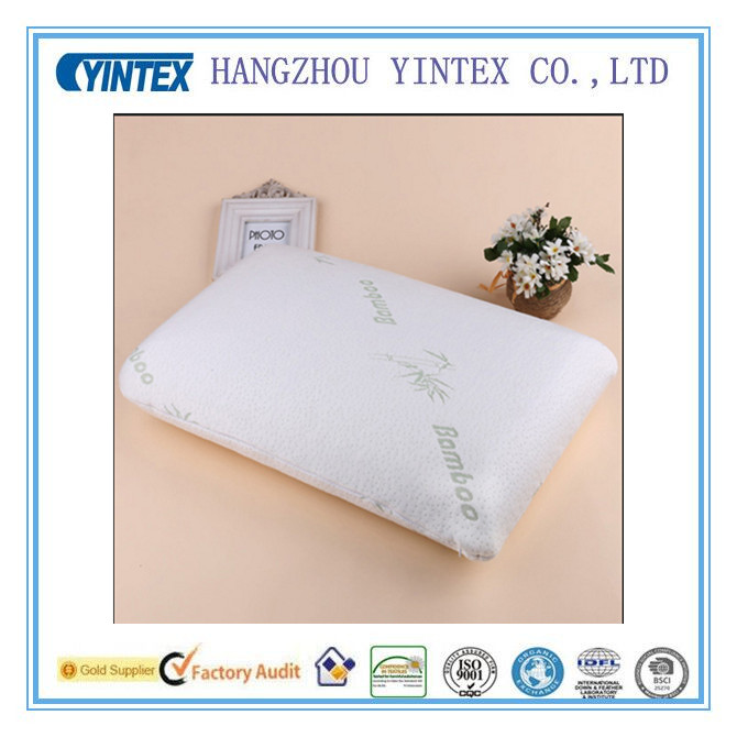 Bamboo Pillow Slow Rebound Memory Foam Pillow Health Care Bamboo Fiber Travesseiro Almohada neck cervical healthcare