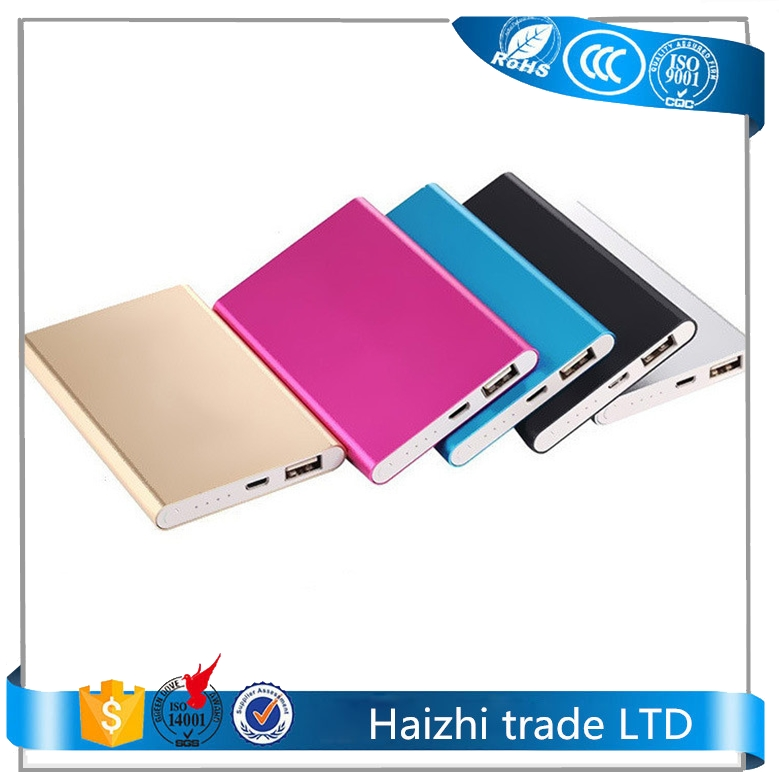 portable 4000mah power bank external mobile battery charger emergency power pack