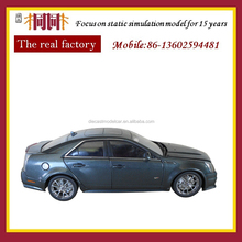Customized 1/18 scale die cast model car