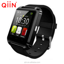 U8 Qiin watch Fashion design cheap price U8 Smart watch with Bluetooth