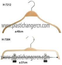 laminated wood clothes hanger, plywood wood clothes hanger, laminated hangers