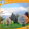 Orange strap,orange handle transparent 1.2/ 1.5 m bubble ball suit ,bubble football , bubble soccer