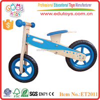 12 inch top quality and colorful children balance wooden toy bike