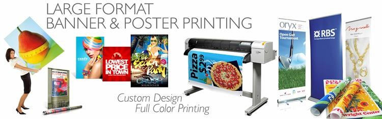 CMYK Full color vinyl banner printing