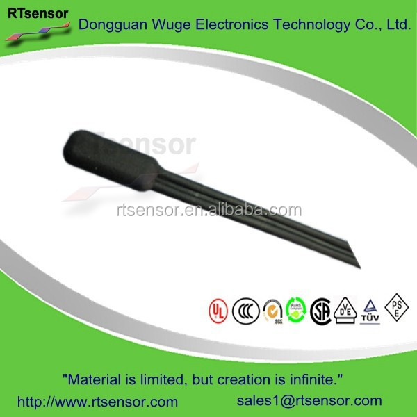 Flexible Vibration-proof Thermoplastic Rubber Insulated Watertight Molded RTD PT100 PT500 PT1000 Platinum Temperature Sensor