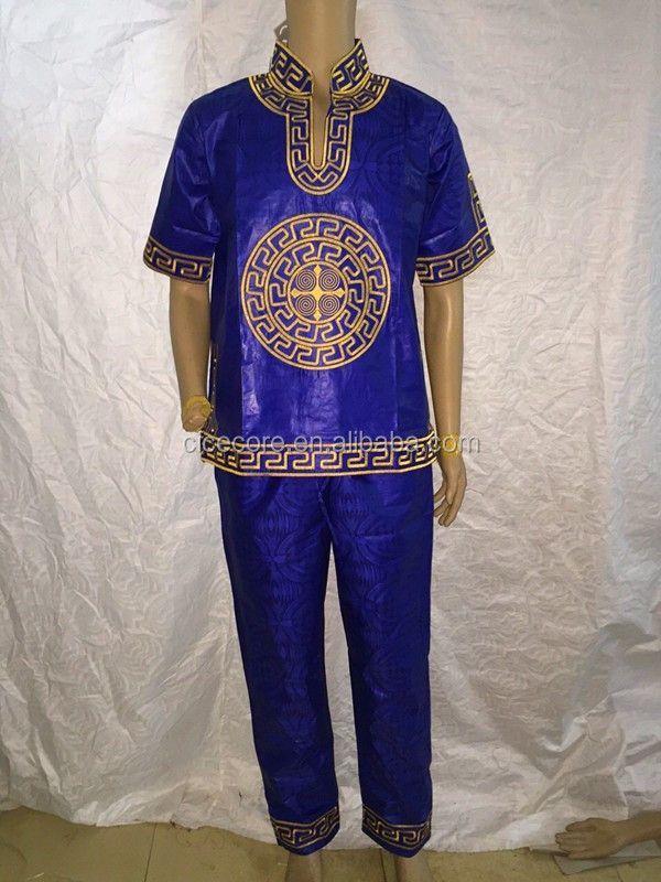 african dresses new bazin riche embroidery design men suit