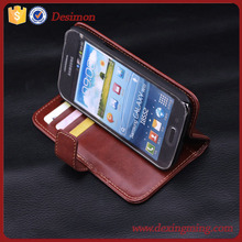 shenzhen manufacturer flip leather case cover for samsung galaxy win i8552