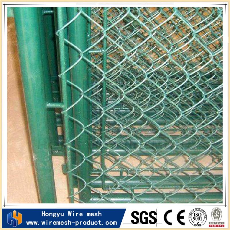 Competitive price stainless steel chain link fence galvanized chain link fence