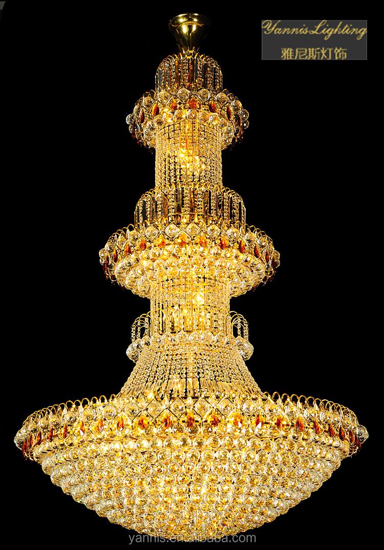lustre led large size pendant crystal chandelier crystal. Black Bedroom Furniture Sets. Home Design Ideas