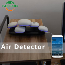 Personal Home Use Indoor Pm2.5 Detector Mushroom Island Design Air Quality Monitor Pm2.5