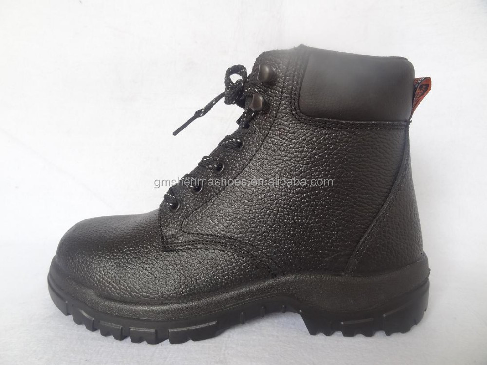 action leather shoes ,composite toe and kelvar midsole,SBP SM153,boot laces