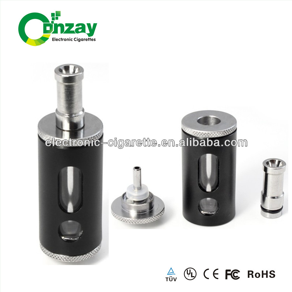 Hot china products wholesale bottom coil rebuildable x10 atomizer 6ml pyrex glass dct cartomizer tank