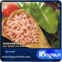 Raw Frozen PUD Red Shrimp
