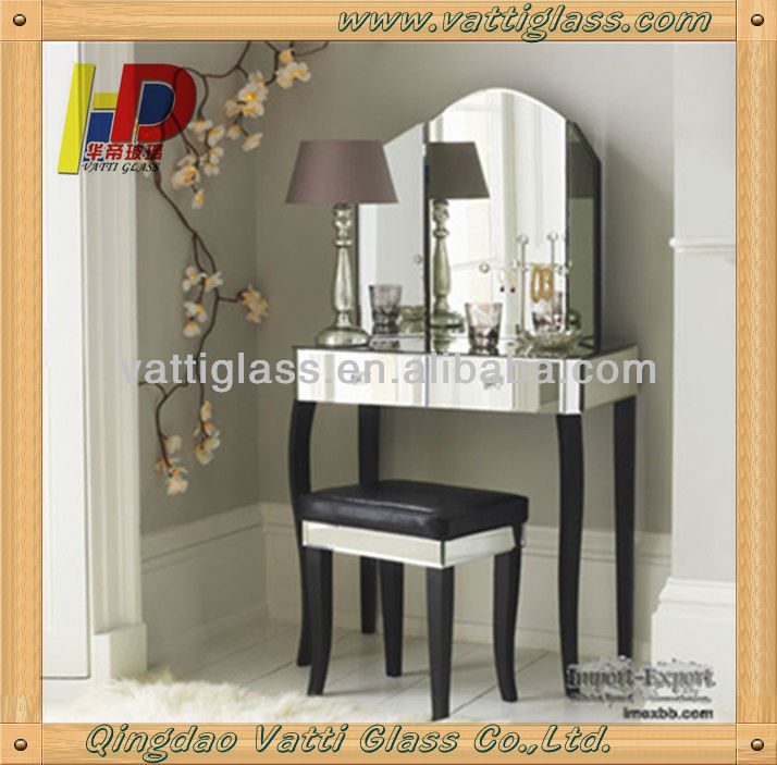China Supplier with CATI Safety Mirror Glass for Display Cabinet Glass Mirror