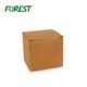 Customized size square cube craft paper mailing shipping carton packaging box