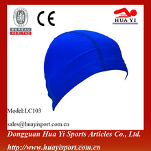 Swimming Pool Equipment Comfortable And Soft Spandex Nylon Swim Cap China Wholesale