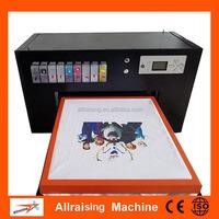 A2 size DTG printer, print for t-shirt flatbed printer