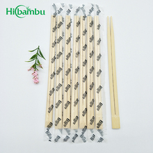 Disposable Twins bamboo chopsticks with plastic packing