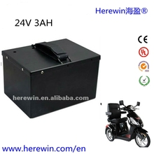 factory OEM 3AH electric escooter LiFePO4 power battery 24v 40ahfor golf trolley ,motorcycle