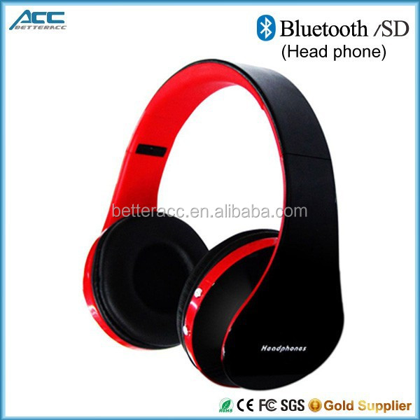 Cheap Wireless Headphones Bluetooth Headphones with Mic For iPhone, Tablet, Computer In ShenZhen