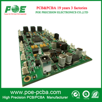 China smt pcba manufacturer of electronic pcb assembly