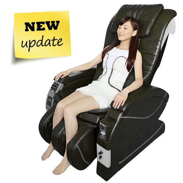 Hotsale airport coin and bill operated vending massage chair with LED display CM-04A