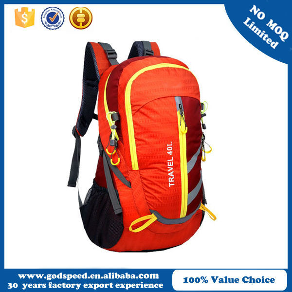 China supplier wholesale high quality fashion durable outdoor large travel backpack